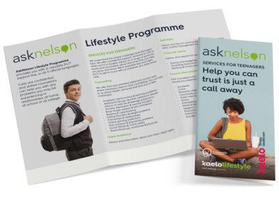 Kaelo Lifestyle Tri-Fold Brochure